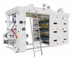 Полностью автоматический напряженности 6 цветной печати Flexographic машины