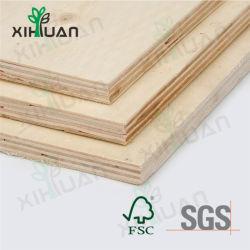 Meubles de bois de feuillus de Grade /Birch /Okoume Face peuplier de contreplaqué de base avec E2 de la colle