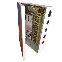 Sorties 16CH 12V33A 400W Caméra de vidéosurveillance Contrôle d'accès central boîte de distribution de l'unité d'alimentation