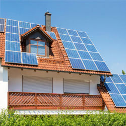 3kw 5 kw hors réseau système d'alimentation solaire hybride Système du panneau d'énergie solaire pour le prix d'accueil 3000W 5000W avec batterie