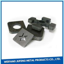 Fabricación de Metal de hoja personalizada de corte por láser para las piezas de metal