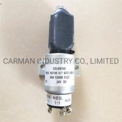 La válvula electrónica de Komatsu 6D114 Válvula de solenoide