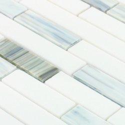 Umweltfreundliches modernes Baumaterial-Fliese-Buntglas-Mosaik