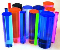 Suministro de la fábrica de Acrílico Color acrílico transparente de varilla varilla burbuja