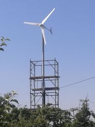 Turbina eolica ad asse orizzontale off-Grid da 2000 W.