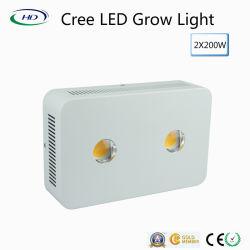 2*200W à LED de rafles grandir la lumière avec les Cris de puces pour des fines herbes