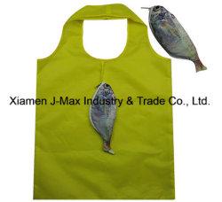 حقيبة تسوق قابلة للطي، نمط السمك الحيواني، قابلة لإعادة الاستخدام، خفيفة الوزن، هدايا، الأكسسوارات والديكور وحقائب البقالة