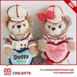 Commerce de gros ours en peluche jouets en peluche doux trousseau des cadeaux pour les Amoureux