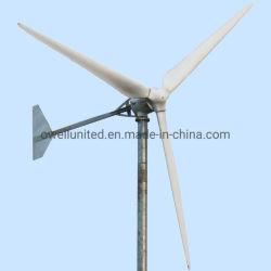 Energia eólica e solar energia híbrido eléctrico do sistema gerador de energia limpa Grade Desligado/na grelha com a turbina eólica gerador com ISO, Marcação de Qualidade