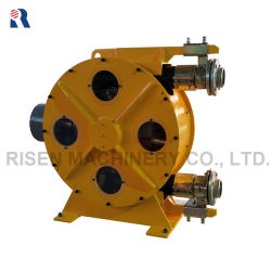Gestiegene industrielle Schlauch-Pumpe der Pressung-Rh100 mit Pumpen-/Bentonit-Schlamm-Pumpen-/Light-Gewicht-Schaumgummi-Betonpumpe der Scheibenkupplung-/4 Zoll peristaltischer