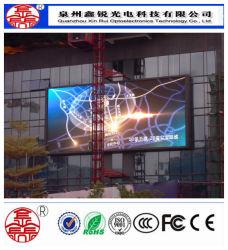 Personalizar la pantalla de LED P6 al aire libre Alquiler de pantalla de vídeo HD de la publicidad signo LED de ahorro de energía