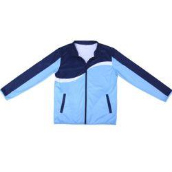 Dell'OEM di alta qualità della chiusura lampo di inverno del cappotto del Mens tessuto pubblico del poliestere del rivestimento giù per il rivestimento di sport