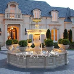 Pedra mármore esculpido Fountain para Square Place