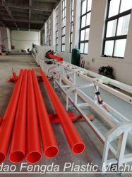 Tuyau de protection de câble électrique mpp/Ligne de production flexible/tube/ Making Machine/plastique/Machines d'extrusion de l'extrudeuse