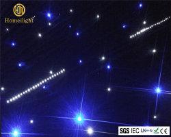결혼식 훈장 효력 빛을%s 2*3m LED 별 커튼 백색과 파란 LED