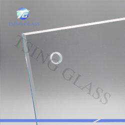 4-19mm flaches gebogenes ausgeglichenes Toughtened Sicherheitsglas-kugelsicheres Glas für Pool-Zaun, Tisch-Oberseite, Dusche-Tür Windows/Nahrungsmittelgerät