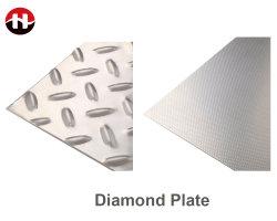 صفائح معدنية من الفولاذ المقاوم للصدأ مصنوعة من الألواح الماسية لتصنيع مواد البناء
