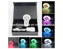 7 LED de color de radiofrecuencia RF Cuidado Lifting Facial Rejuvenecimiento Bio