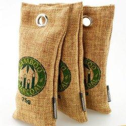 2017 Nouveaux produits sac de charbon de bois de Bambou Activited Diffuseur de parfum de purificateur de commerce de gros