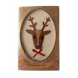 Custom печать приглашение Рождество / День Рождения открытки