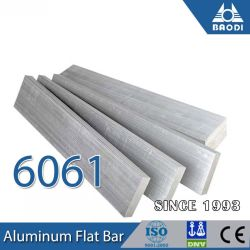 卸売6000シリーズ6061アルミニウムフラットバー棒中国製