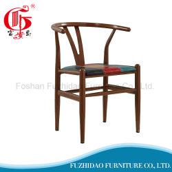 Ventes de café restaurant de plein air chaud chaise avec design en forme de Y