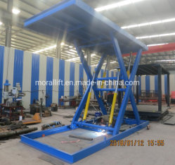 3000kg de capacidad fija de tijera hidráulico de elevación Mini