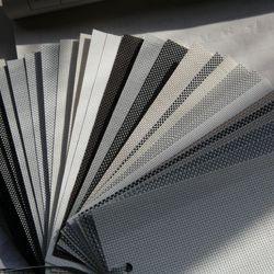 Extérieur en PVC stores à rouleau de tissu de l'ombre solaire
