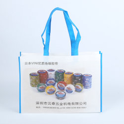 Eco Friendly pliable non tissé Sac shopping Promotion réutilisables