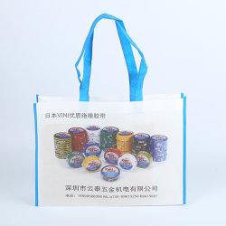 非編まれたEcoの友好的なFoldable再使用可能な昇進のショッピング・バッグ
