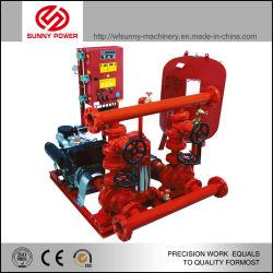電動 / ディーゼル / ジョッキーポンプ付き高圧消火ポンプセット