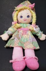 Icti Factory Custom Cloth Rag Doll Met Garen Haar