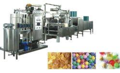 Hard Candy automático que hace la máquina con la línea de producción