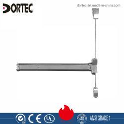 Haste vertical do dispositivo de saída de pânico para porta corta-fogo (DT-1500VA)