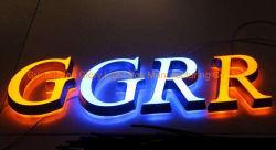 Personalizada de Fábrica em acrílico colorido Neon de logotipo para decoração de loja