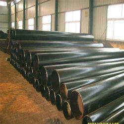 China recubierto de PE de Material de acero de alta calidad de los tubos de acero sin costura para la entrega de agua caliente