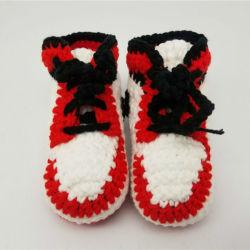 Handmade Tricoté au crochet des chaussures de bébé