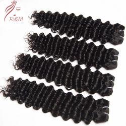 Großhandelsnerz-Jungfrau-brasilianische Haar-Bündel, Jungfrau-Menschenhaar-Häutchen ausgerichtetes reales brasilianisches Haar