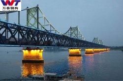 precio de fábrica de acero prefabricados puente de la estructura de puentes de carretera