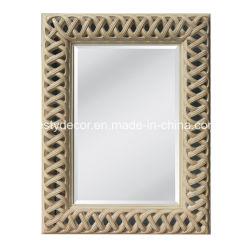 Blocco per grafici rustico dello specchio dell'unità di elaborazione della decorazione domestica di rettangolo