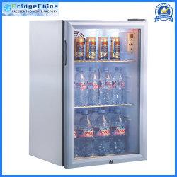 Mini Pantalla bebidas comerciales enfriador vertical Cocina Minibar Nevera