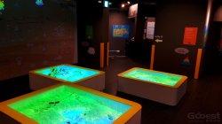 Projecteur interactif Gooest Bac à sable Jeux pour enfants Centre