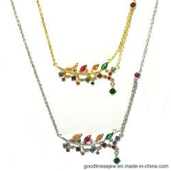 مجموعة مجوهرات أزياء المرأة بسعر الجملة مجموعة فضة زهرة (S3381)