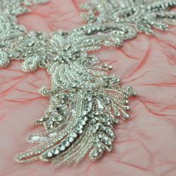 Vestido com Filete feitos à mão patch Patch para vestuário Acessórios de Moda de fábrica