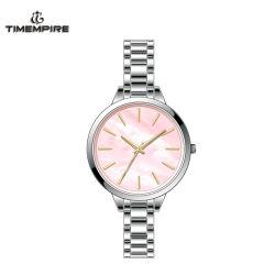 Het aangepaste Horloge van de Vrouwen van het Kwarts van de Band van het Roestvrij staal van de Armband Nieuwe (71369)