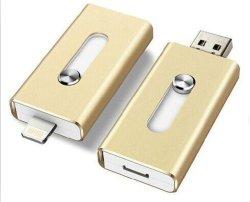 Neuer 8/16/32/64GB USB2.0 Plattenspeicher-Speicher des Blitz-Laufwerk-U für Ich-Telefon Ich-Auflage