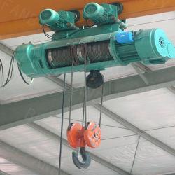 электрическая лебедка 20t с краном прогона