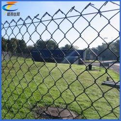 Malla de alambre recubierto de PVC fence_Eslabón recubierto de PVC malla de alambre