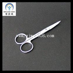 Акупунктура 12,5 хирургических перевязочных ножницы - изогнутая/нержавеющая сталь хирургических стол ножничного типа