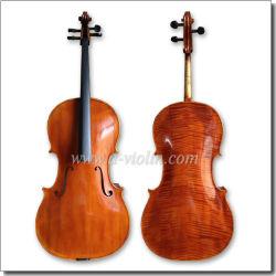 Gezierte Oberseite flammte chinesisches Ahornholz-Rückseiten-Cello (CH200W)